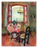The Open Window Posters av Charles Camoin
