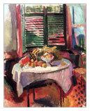 Afternoon Still Life Posters av Raoul Dufy