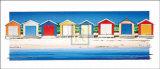 カラフルなビーチ 高画質プリント : B. ウォルシュ