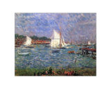 Summer at Cowes Poster by Philip Wilson Steer