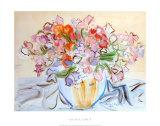 Vase de Pois de Senteur Posters by Raoul Dufy