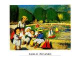 Les Tuileries Affischer av Pablo Picasso