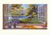 Wilde hyacinten Poster van Stephen Darbishire