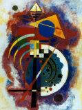 Hommage a Grohmann Plakater af Wassily Kandinsky