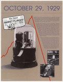 Les dix jours qui ont secoué l'Amérique- Crack boursier de 1929 Posters