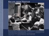 History Through A Lens - Escape from Vietnam Kunstdruck