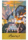 Davos Posters av Ernst Ludwig Kirchner