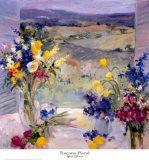 Toscana floral Láminas por Allayn Stevens