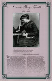 American Authors of the 19th Century - Louisa May Alcott Poster
