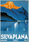 Silvaplana Print by Johannes Handschin