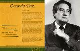 Latino Writers - Octavio Paz Poster