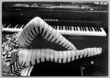 Pianoben|Piano Legs Posters av Ben Christopher