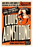 Louis Armstrong - Connie's Inn, NYC 1935 Poster par Dennis Loren