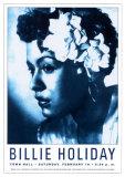 Billie Holiday at Town Hall, New York City, 1948 高画質プリント : デニス・ローレン