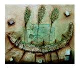Ritual Boat Láminas por Jan Eelse Noordhuis