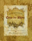 Cotes du Rhone Poster by Pamela Gladding