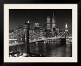 ニューヨーク, ニューヨーク州 - ブルックリン橋 ポスター : アンリ・シルバーマン