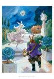 Cinderella Rabbit Poster por Dot Bunn