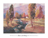 Fall in the Valley Posters af Ted Goerschner
