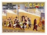 Cesar Gicléetryck av Albert Dubout