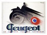 Peugeot Giclée-Druck von Charles Loupot