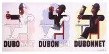 Dubonnet, 1932 Gicléedruk van Adolphe Mouron Cassandre