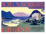 Hotel St. Gotthard, Zurich Giclee Print