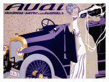 Audi Giclee Print by  Witzel