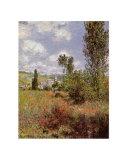 Ile Saint Martin, Vetheuil Prints by Claude Monet