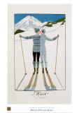 L'hiver Posters par Georges Barbier