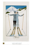 O inverno Pôsters por Georges Barbier