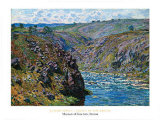 Valley Of The Creuse, 1889 Prints by Claude Monet