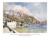 Morning At Gargagno, Lake Of Garda, Italy, 1911 Prints by Edward Darley Boit