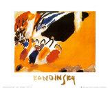 Impression III, Concert Plakat af Wassily Kandinsky