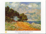 Cap Martin Arte por Claude Monet
