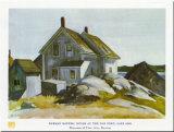 House At Old Fort Kunst af Edward Hopper
