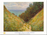 Road At La Cavee Prints by Claude Monet