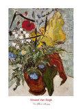 Vase of Poppies Posters af Vincent van Gogh