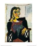 Portrait of Dora Maar, c.1937 Plakater av Pablo Picasso