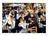 Le Moulin de la Galette Plakater af Pierre-Auguste Renoir