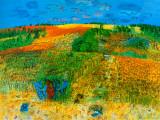 The Harvest Affischer av Raoul Dufy