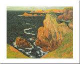 Belle Ile Posters por Claude Monet