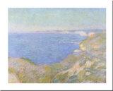 The Cliffs near Dieppe, c.1897 Posters por Claude Monet