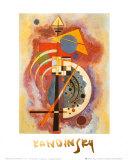 Hommage till Grohmann Poster av Wassily Kandinsky