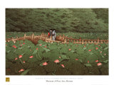 Benton Shrine Print by Kawase Hasui