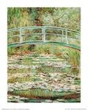 A ponte japonesa Posters por Claude Monet