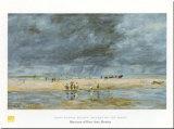Figures On Beach Art par Eugène Boudin