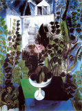 Jardin Et Maison Poster von Raoul Dufy