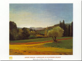 Southern France Plakater av Andre Derain