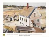 House By 'squam River, Gloucester (cape Ann, Massachusetts), 1926 Plakater af Edward Hopper